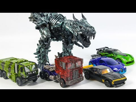 Transformers 4 AOE Autobots Optimus Prime Bumblebee Crosshair Drift Hound Grimlock Vehicle Robot Toy