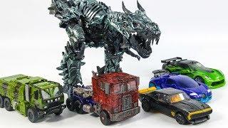 Transformers 4 AOE Autobots Optimus Prime Bumblebee Crosshair Drift Hound Grimlock Vehicle Robot Toy