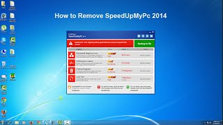 How To Remove SpeedUpMyPc 2014