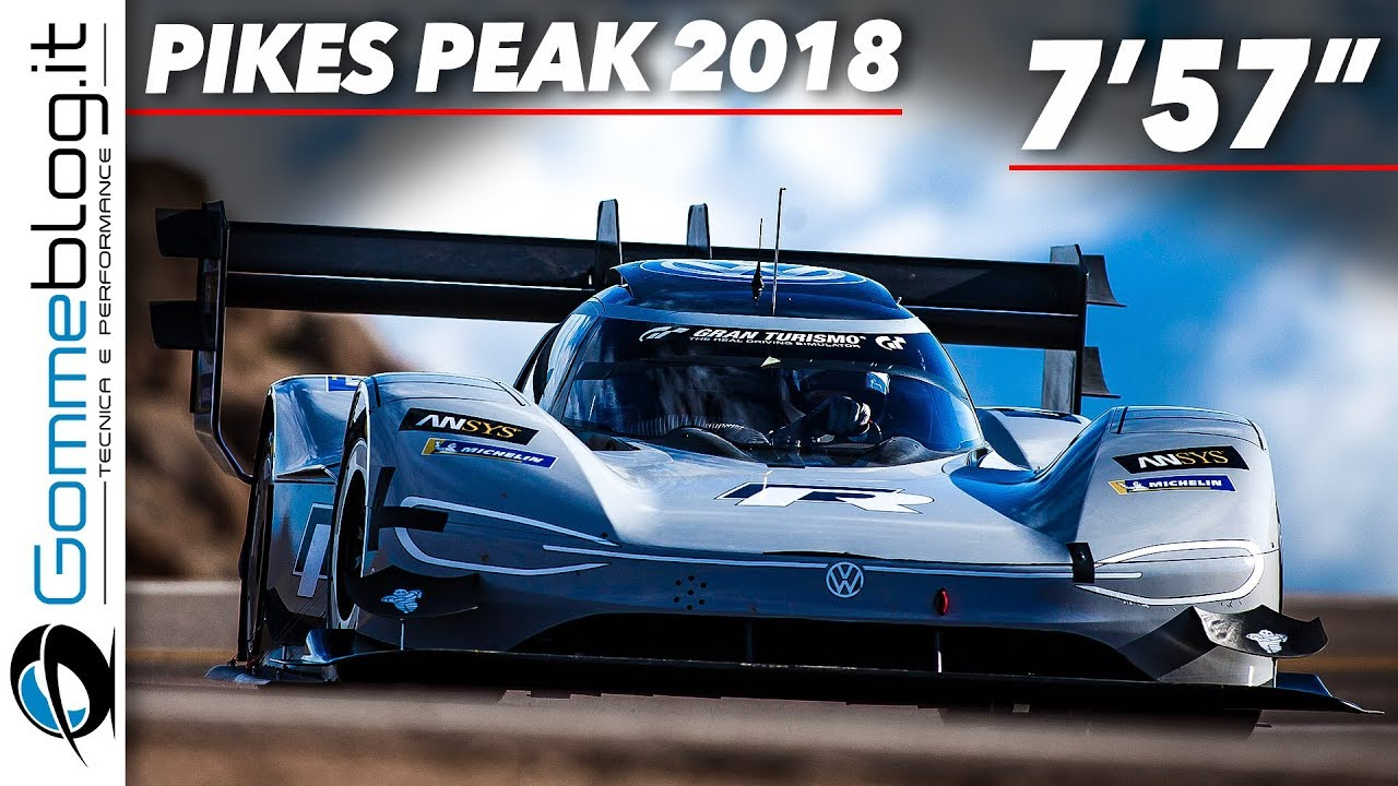 volkswagen i d r pikes peak 2018 race clip and interviews youtube. Black Bedroom Furniture Sets. Home Design Ideas