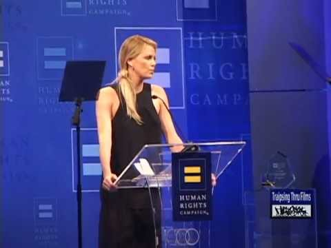 Charlize Theron! Human Rights Campaign 2012