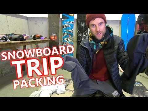 Packing My Snowboard Gear for Mammoth Trip