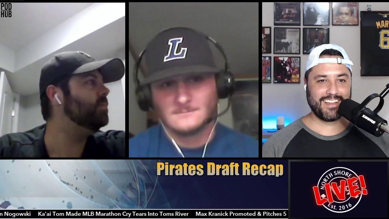 #NS9LIVE! - Pirates Draft Recap