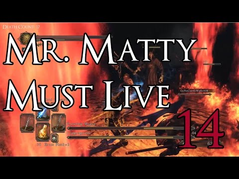 Dark Souls 2 SotFS - Mr. Matty Must Live Episode 14: Brightstone Cove Tseldora