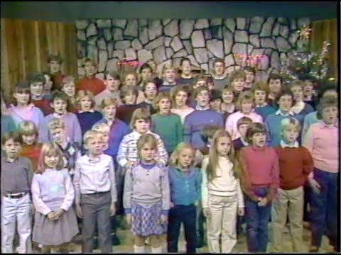 1985 - First & Calvary Presbyterian Church Youth Christmas Program, Springfield, Missouri