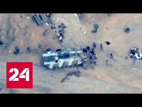 Азербайджан нанес серию ударов по армянским частям. Видео - Россия 24