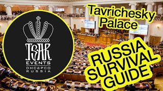 Gambar cover (Ep. 31) Tavrichesky  Palace: Venue in St. Petersburg  - Tsar Events' RUSSIA SURVIVAL GUIDE