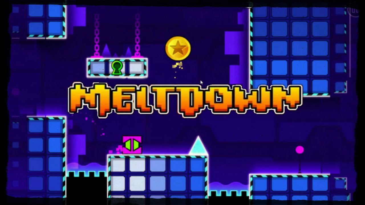 how to get keys in geometry dash meltdown
