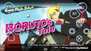 New Naruto Storm 4: Road To Boruto Android Gameplay