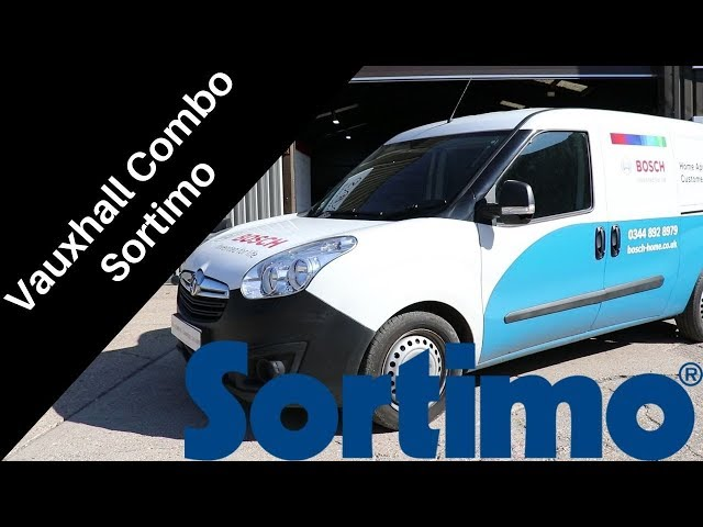 Vauxhall Combo | Sortimo Racking | CBS Automotive