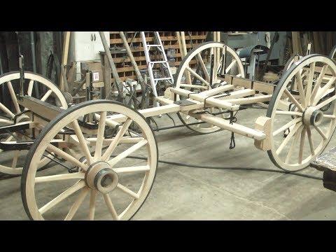 Sheep Wagon Undercarriage | Wheelwright Trade | Engels Coach