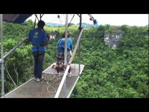A MUST TRY!!! The PLUNGE @ Danao Adventure Park, Bohol / Suislide