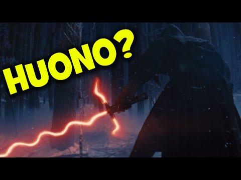 Miksen Tykännyt Star Wars: Force Awakens Leffasta (SPOILERS)