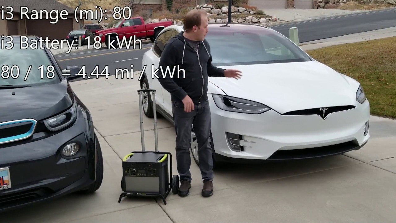 charging an ev with a portable battery - does it work? - youtube