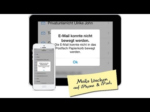 iPhone & iPad: T-Online Mails löschen