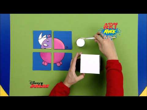 Disney junior art attack puzzle d 39 animaux en - Art attack manualidades ...