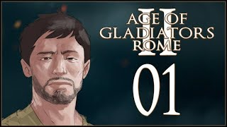 NEW GLADIATOR IN TOWN - Age of Gladiators II: Rome - Ep.01!