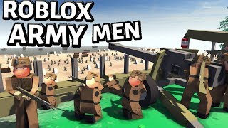 ROBLOX Army Men D Day ! - NEW Huaji mod - Men Of War Assault Squad 2