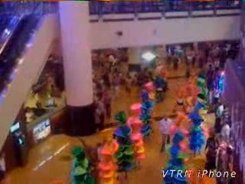 Mall of the Emirates life performance 2