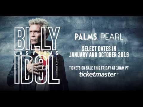 Billy Idol: Las Vegas 2019