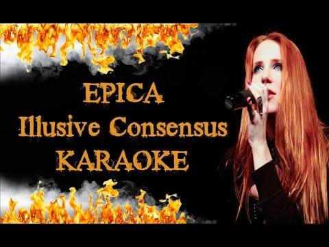 EPICA - Illusive Consensus (KARAOKE HIGH QUALITY)