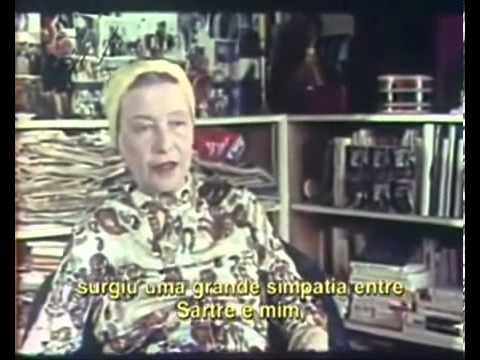 Simone de Beauvoir   Entrevista Completa