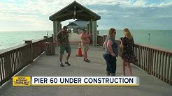 Pier 60 in Clearwater Beach partially closes to repair the bait shop and pavilions