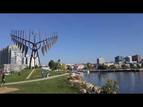 Downtown Barrie Ontario Canada