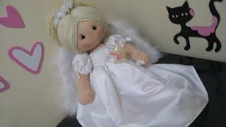 Dica para fazer boneca anjinho/anjo diy
