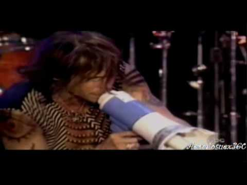 Aerosmith - Just Push Play  ( Live At United we Stand 2001 ) HD