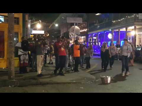 New Orleans Brass Band, Frenchman St