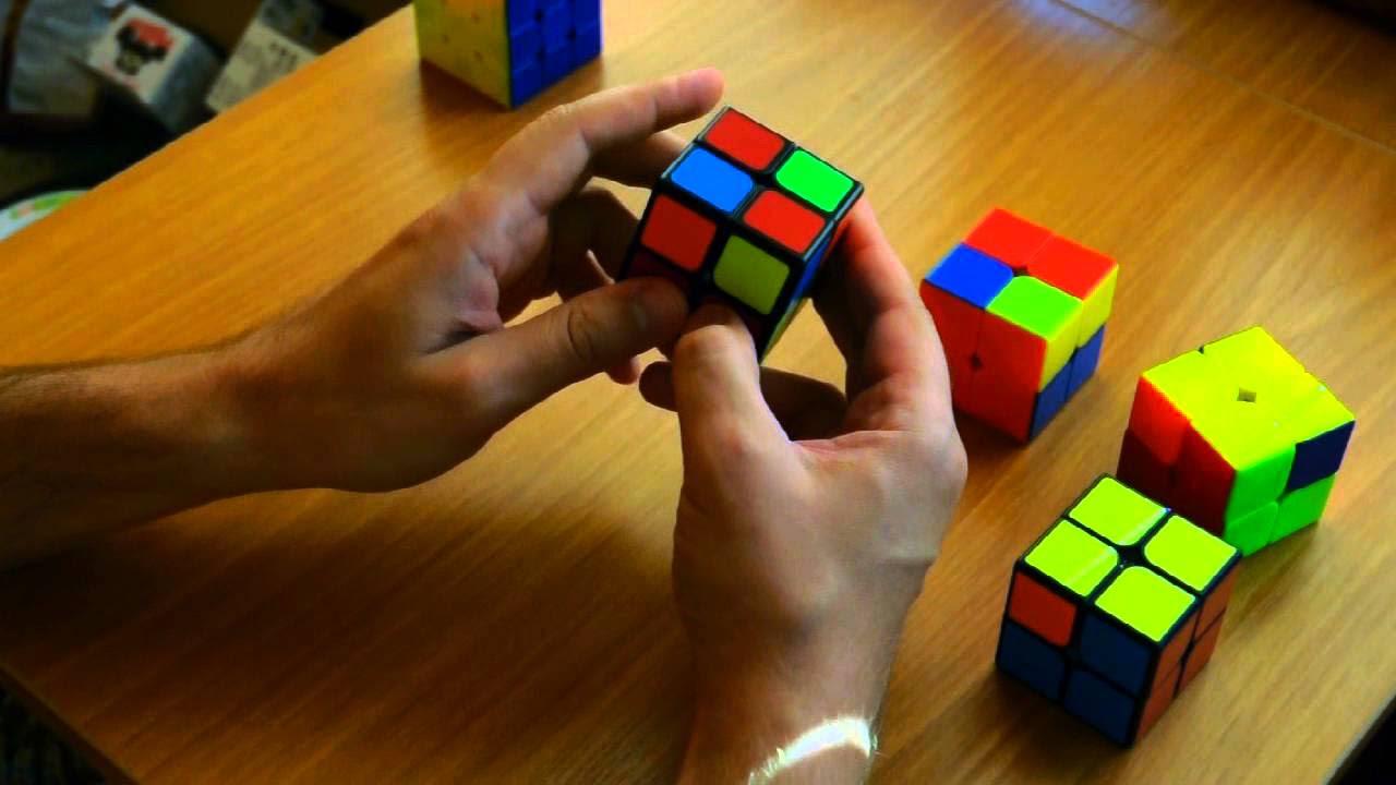 схема перемещения кубика рубик
