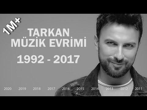Tarkan Müzik Evrimi 1992 - 2017 | Diskografi & Videografi Youtubeist