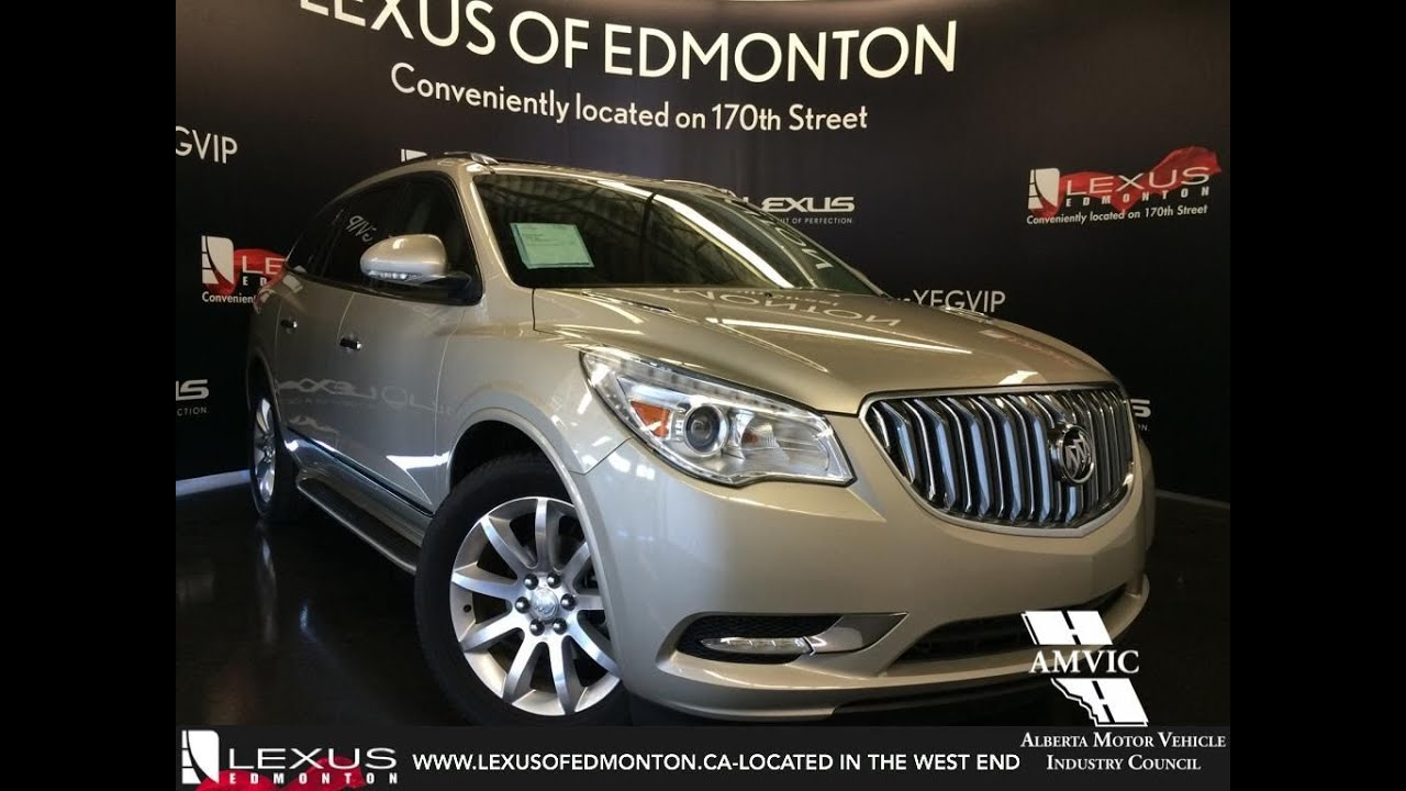 used 2014 gold buick enclave awd premium walkaround review