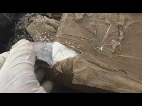 Marina mexicana decomisa 32 bultos de cocaína en las playas de Acapulco