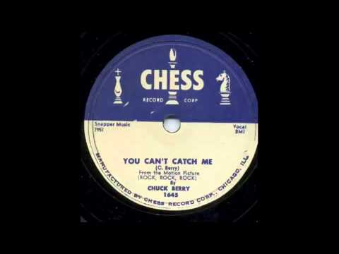 Chuck Berry - You Can't Catch Me 78 rpm!