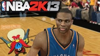 NBA 2K13 Demo: Russell Westbrook 3 Point Pistols Ritual I Miami Heat vs OKC Thunder