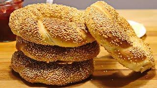 СИМИТ на Завтрак или Турецкие Бублики | Булочки на Завтрак SIMIT