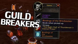 The Biggest Guild Breakers in World of Warcraft