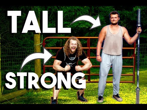 Bodybuilder vs Tall Guy | Agility & Strongman