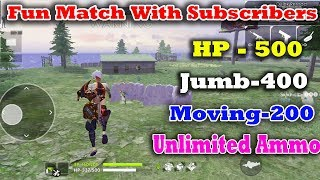 Free Fire Fun Match With SubScribers!!   Free Fire Tamil Tricks Tips   Gaming Tamizhan