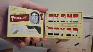 2012 Panini Prime Cuts 5 Box Case: #1/1 Booklet! Best INNER CASE EVER!