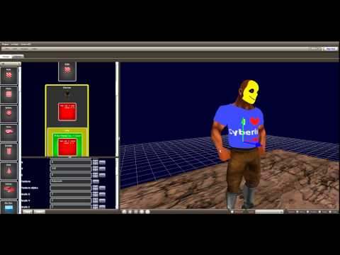 Cyberix3d Free Online 3d Game Maker Character Youtube