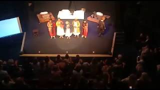 Standing ovation by our audience in Russia (Northern Meetings Theatre Festival)