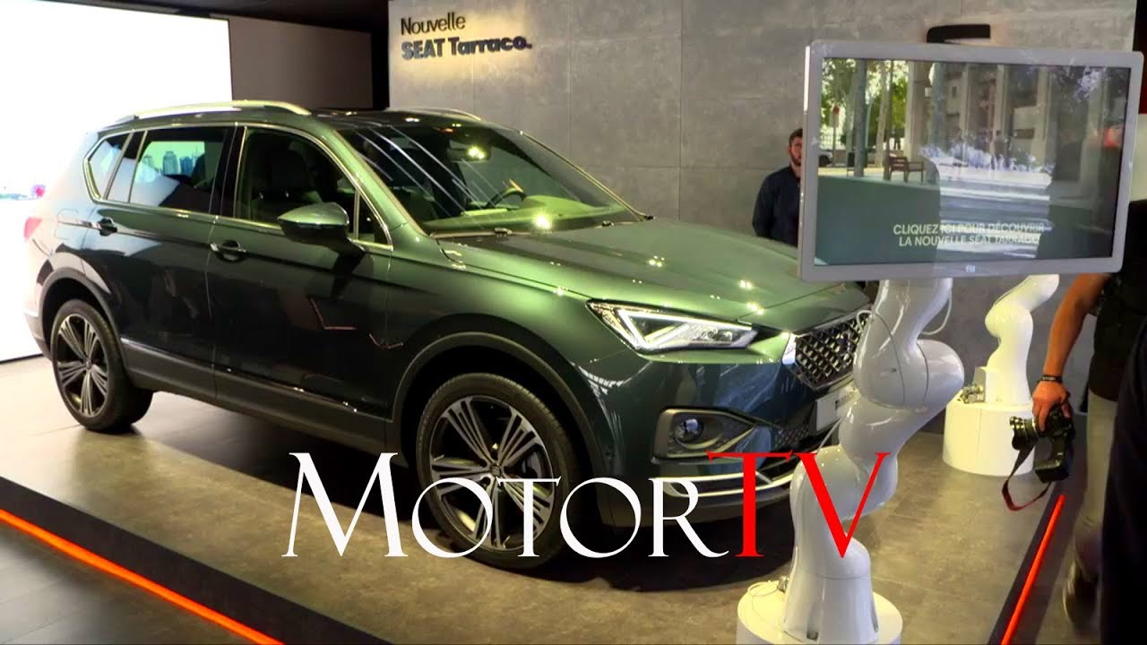 2018 paris motor show seat tarraco arona tgi youtube. Black Bedroom Furniture Sets. Home Design Ideas