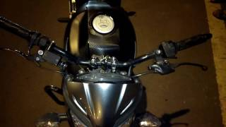 Honda cb trigger modified