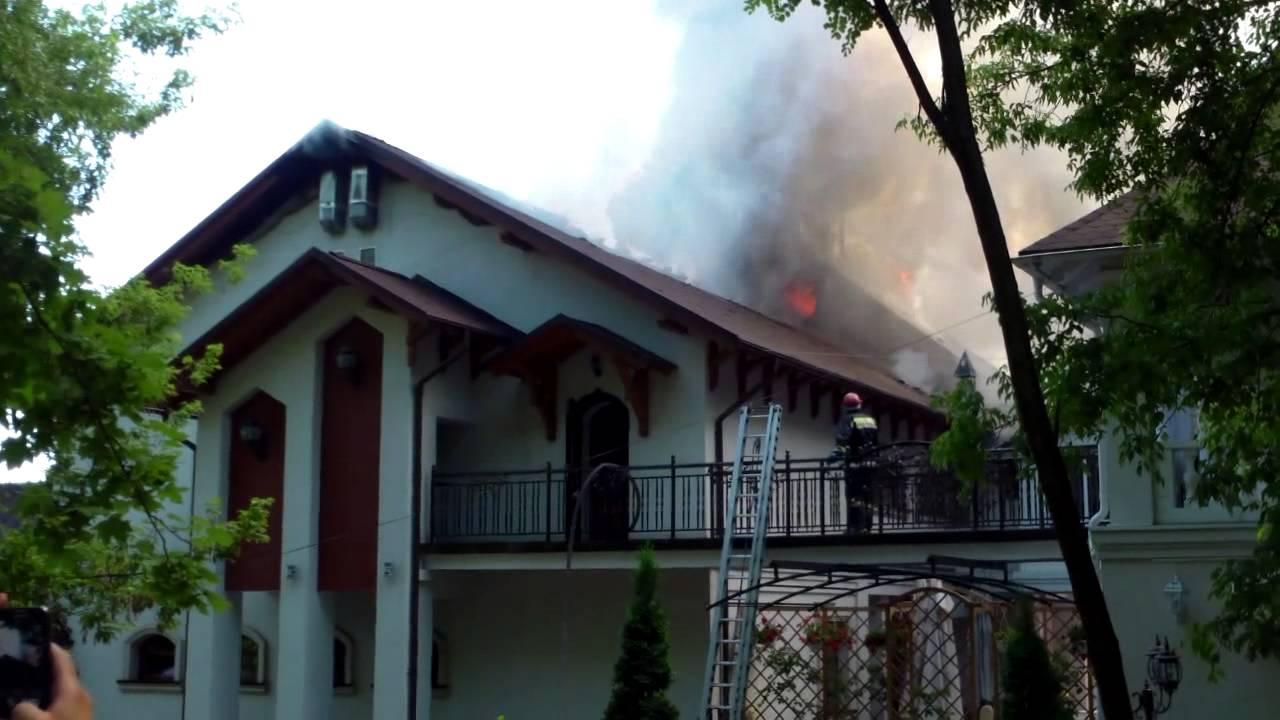 Așa a ars restaurantul #Butoiaș de pe Calea Ieșilor