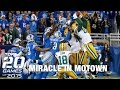 #8: Packers vs. Lions | Top 20 Games of 2015 | NFL