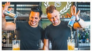 If DUDE PERFECT Were Bartenders