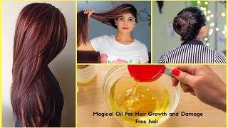 How to Apply Almond (Badam) Oil to Hair - Dabur Almond Hair oil Benefits for Damaged Hair
